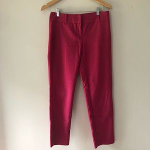 WHBM Pink Ankle Pants